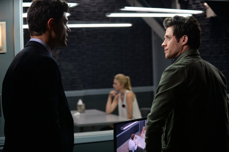 "STITCHERS - ""Connection"" - When it appears that a husband took out a hit on his wife, Kirsten and her team attempt to find out the truth in an all-new episode of ""Stitchers,"" airing Tuesday, June 16, 2015 at 9:00PM ET/PT on ABC Family. (ABC Family/Eric McCandless)