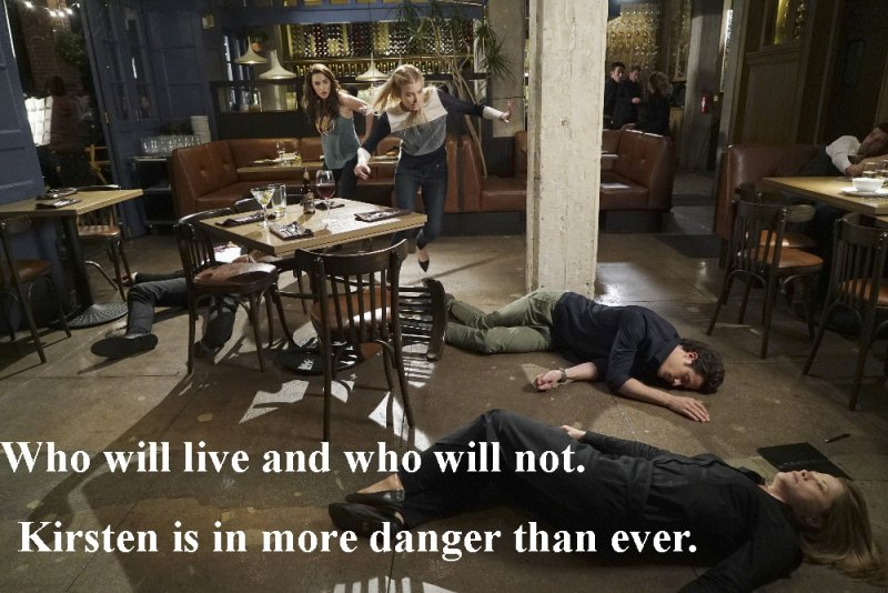 """STITCHERS - """"Full Stop"""" - A shooting leaves Detective Fisher in ICU, and Kirsten on the hunt for the cause in the summer finale of """"Stitchers,"""" airing Tuesday, August 4, 2015 at 9:00PM ET/PT on ABC Family. (ABC Family/Eric McCandless) ALLISON SCAGLIOTTI, EMMA ISHTA, KYLE HARRIS"""