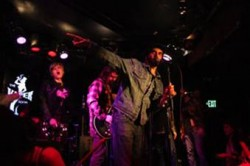 All Day Sucker performing with Dave Grohl of The Foo Fighters at L.A.'s The Viper Room