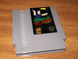 Lost Game Cartridge for the NES