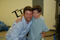 Sean Astin with Clay Beaubout