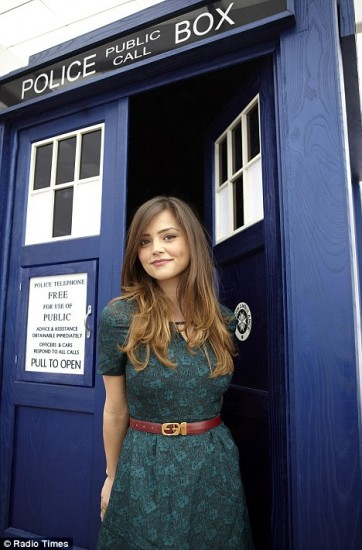 Jenna-Louise Coleman the new companion on Doctor Who season 7.