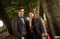 BBCA official photo of Matt Smith and Jenna-Louise Coleman