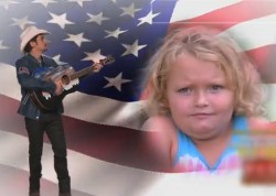 """Brad Paisley premieres his latest project on the Jimmy Kimbell Show. He has written a theme song for the TLC reality show """"Here Comes Honey Boo Boo""""."""