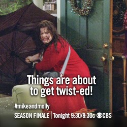 CBS not be airing the scheduled May 20 third season finale of comedy Mike & Molly because of the tornado that tore through Oklahoma on today.