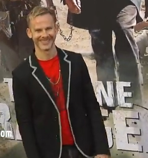 """Dominic Monaghan at the """"The Long Ranger"""" premiere."""