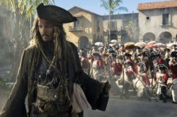 Johnny Depp as Capt. Jack Sparrow Photo: Courtesy of Walt Disney Pictures/Peter Mountain/Pirates of the Caribbean