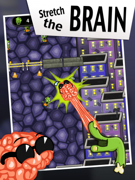 Brain and Zombie - Baz From Fractal Fox Studios