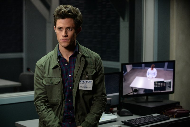 "STITCHERS - ""Connection"" - When it appears that a husband took out a hit on his wife, Kirsten and her team attempt to find out the truth in an all-new episode of ""Stitchers,"" airing Tuesday, June 16, 2015 at 9:00PM ET/PT on ABC Family. (ABC Family/Eric McCandless) KYLE HARRIS"
