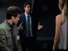 """STITCHERS - """"Connection"""" - When it appears that a husband took out a hit on his wife, Kirsten and her team attempt to find out the truth in an all-new episode of """"Stitchers,"""" airing Tuesday, June 16, 2015 at 9:00PM ET/PT on ABC Family. (ABC Family/Eric McCandless) KYLE HARRIS, DAMON DAYOUB"""