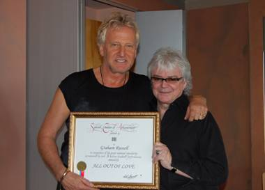 GRAHAM RUSSELL and RUSSELL HITCHCOCK of AIR SUPPLY
