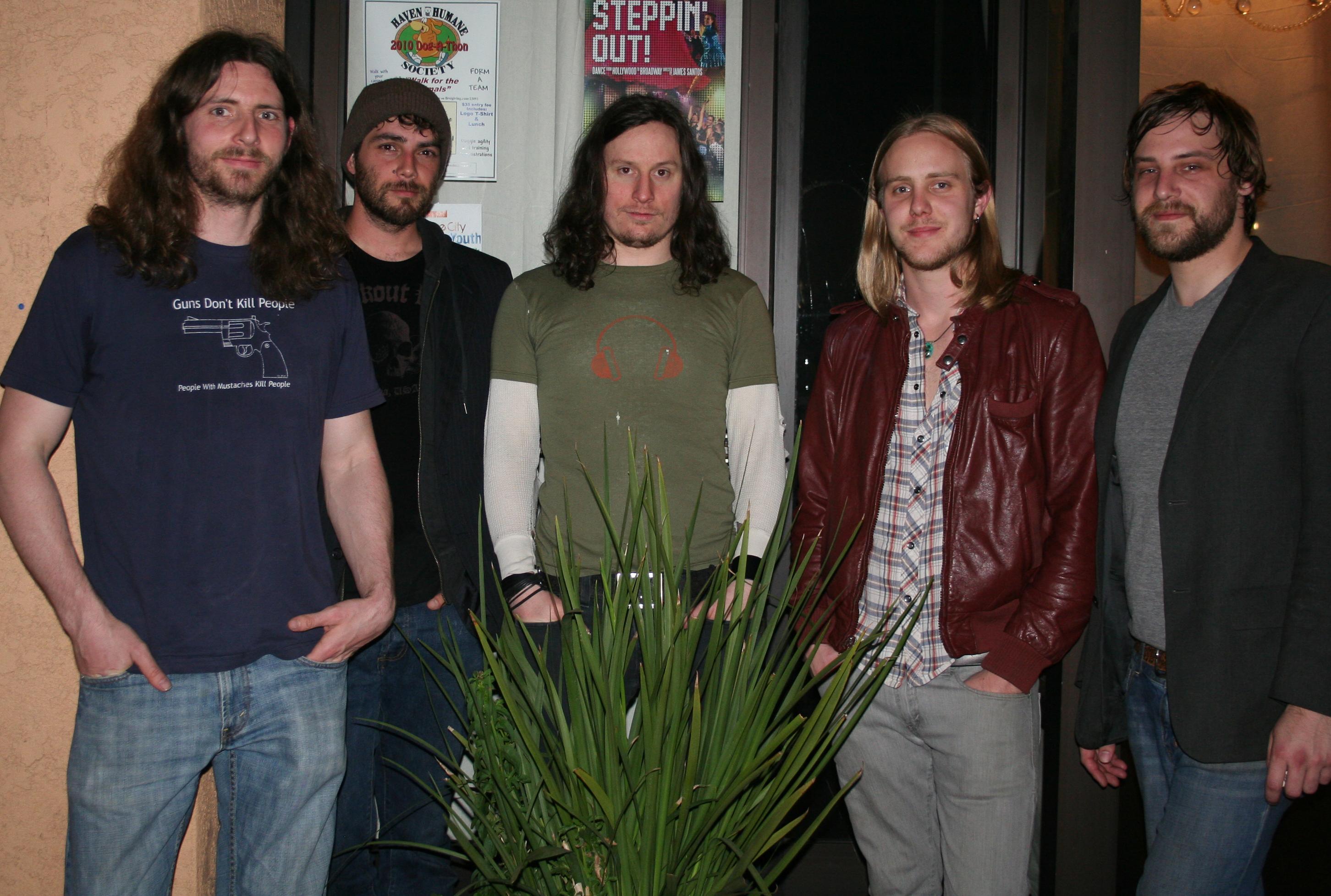 Ape Machine is Caleb Heinze – Vocals, Ian Watts – Guitar, Jimi Miller – Guitar, Brian True – Bass, Damon Delapaz – Drums.
