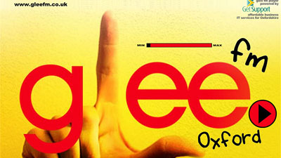 "A new UK radio station launched yesterday with one objective: all ""Glee,"" all the time."