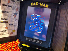 J. Alex Halderman and Ariel J. Feldman hacked a touchscreen voting machine to play Pac-Man, without breaking the machine's tamper-evident seals.