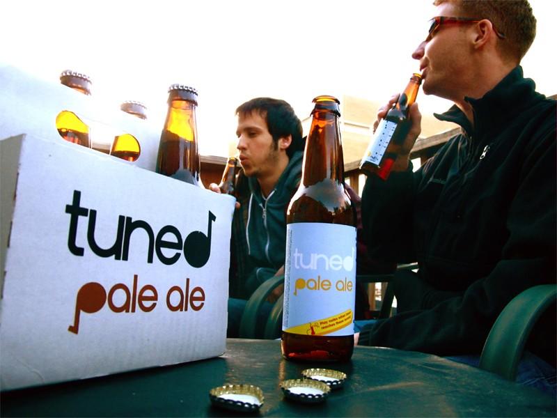 Matt Braun is a talent designer that made beer drinking just a little more fun.