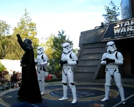 Vader Dances to MC Hammer You Can't Touch This Dance: Star Wars weekends 2009 Disney