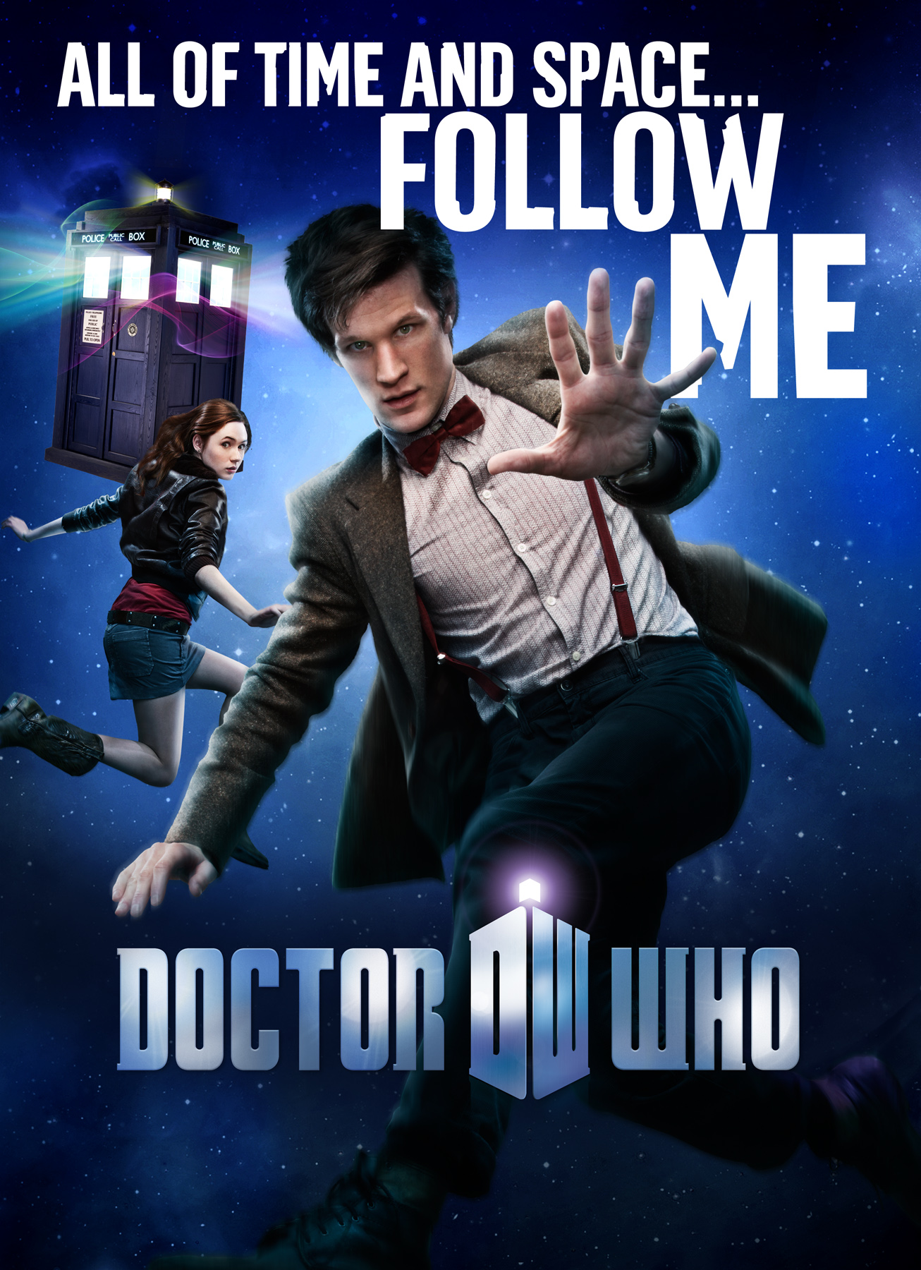 Matt Smith has revealed that he donned a fake beard to film scenes for an upcoming instalment of Doctor Who.