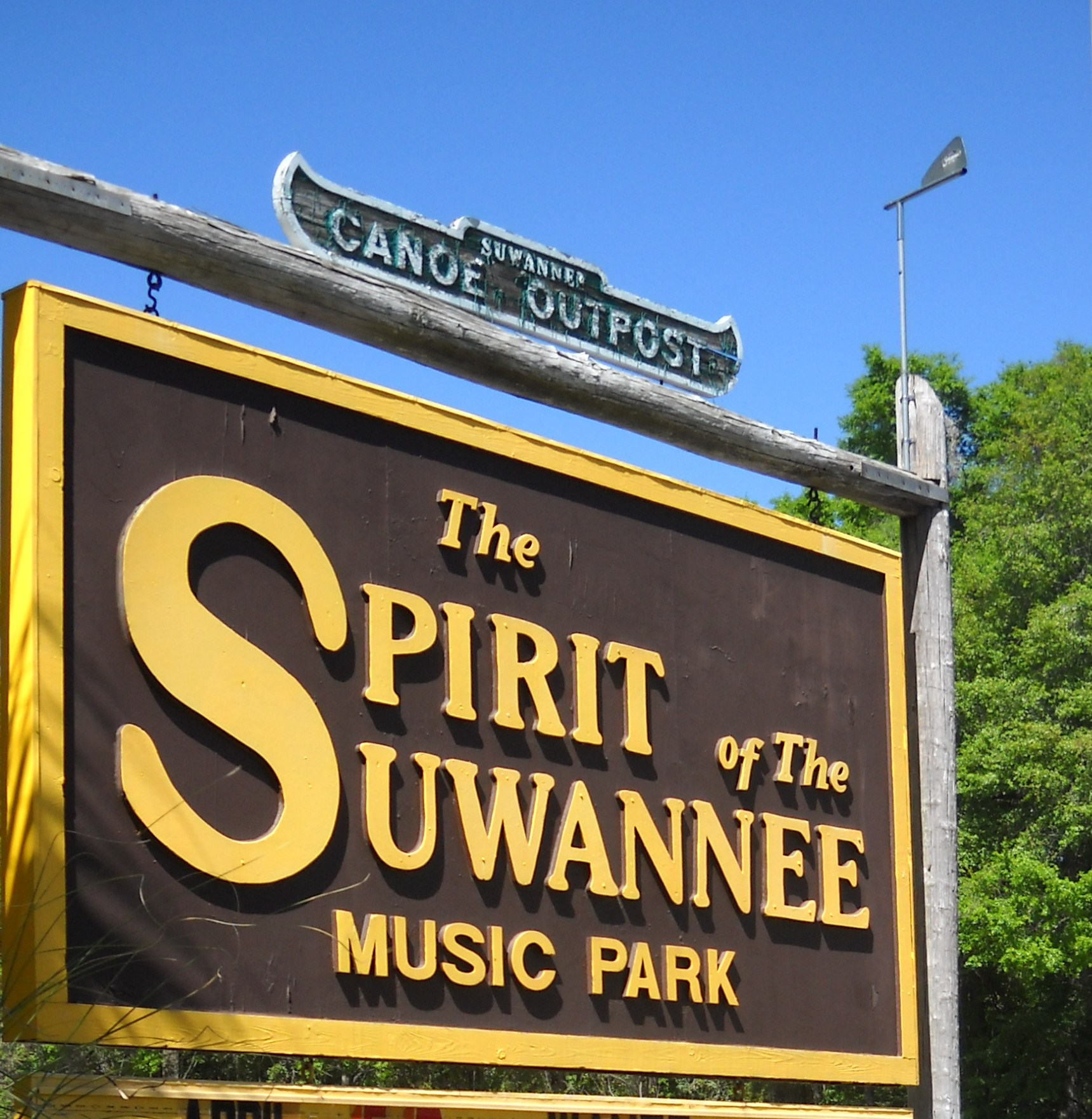 SPIRIT OF THE SUWANNEE MUSIC PARK, LIVE OAK, FLORIDA