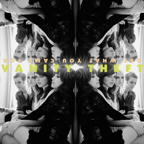 Vanity Theft CD Cover. For the latest news join our mailing list.