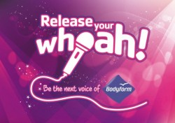 In a brand new integrated campaign, Bodyform is launching the search for a new voice to bring back their iconic song.