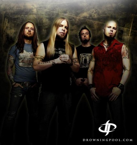 Drowning Pool is hittin' the road. We have the tour dates and VIP pass information.