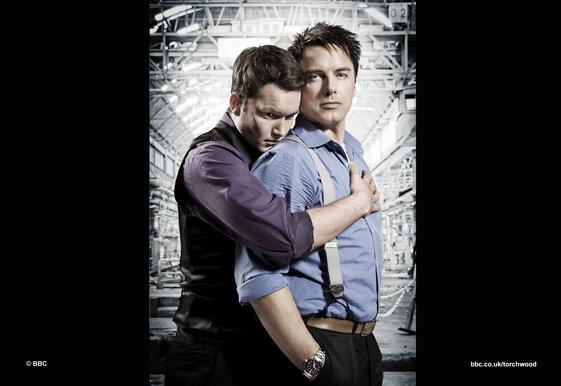 Torchwood's John Barrowman said banning same sex kissing in early evening shows is ridiculous. He will be take a stand against the ban.