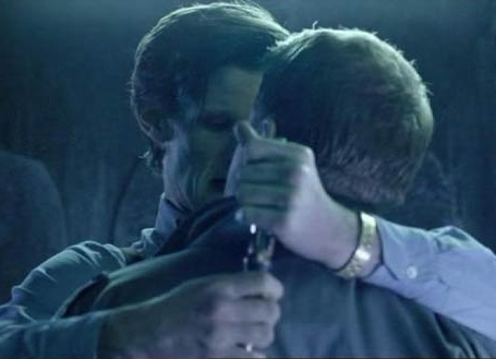 "Craig Owens (James Corden, ""The Lodger"") and the Doctor (Matt Smith) get to close for comfort."