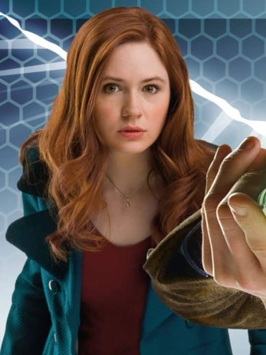 Photo of Karen Gillan as Amy Pond