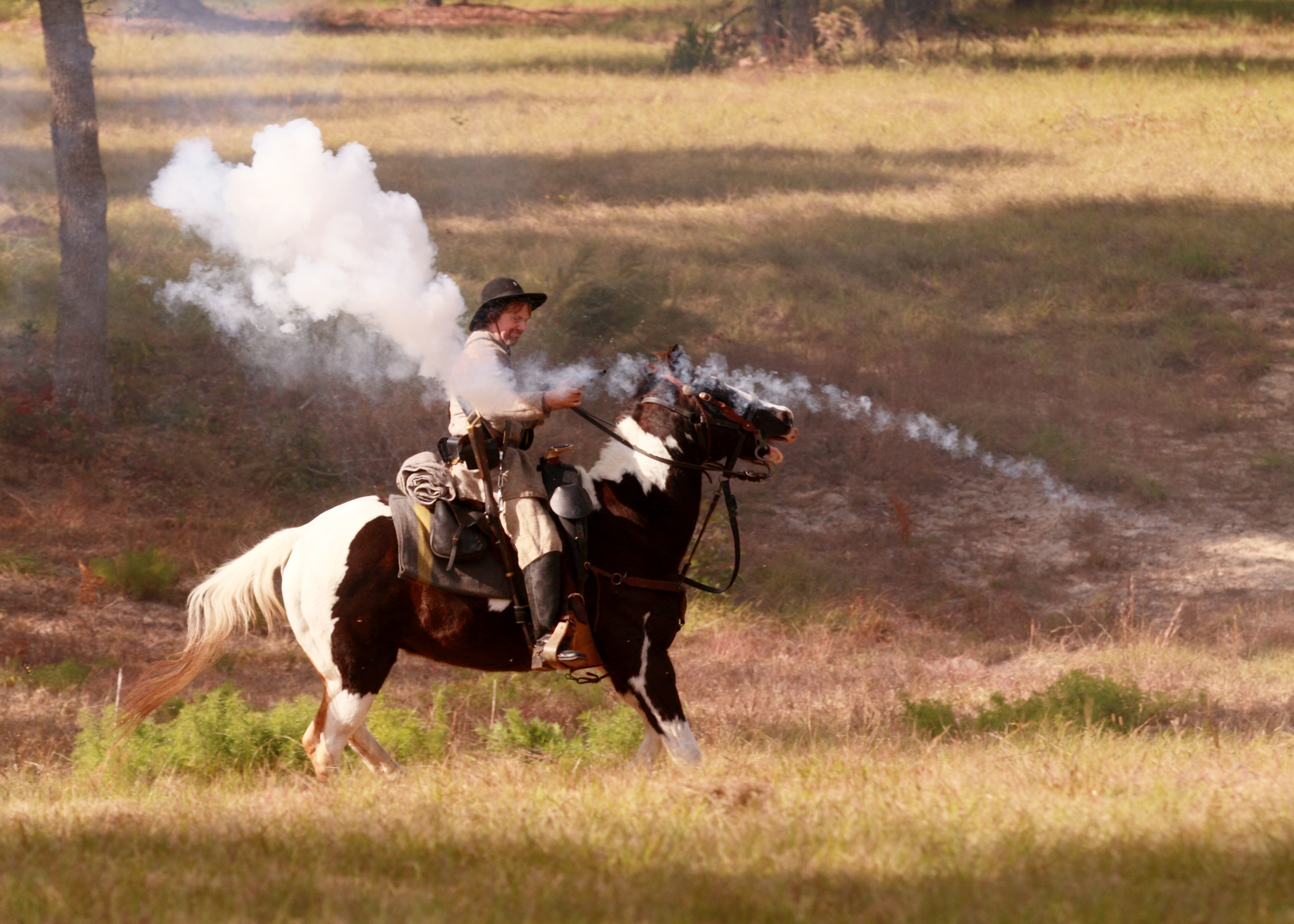 Authentic Civil War re-enactment in living color! Meet your past at the SOSMP in Live Oak Nov. 18-20