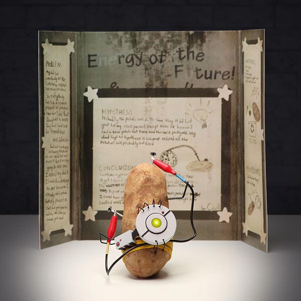 GLaDOS Talking Potato: Portal 2 PotatOS Science Project Kit