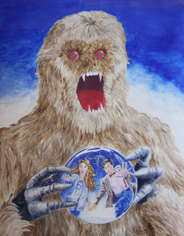 TTZ Abominable Snowman Cover for The Terrible Zodin # 13 (Winter 2011/2012)