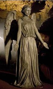 Weeping Angels, beautiful statues one moment and your worst nightmare the next.