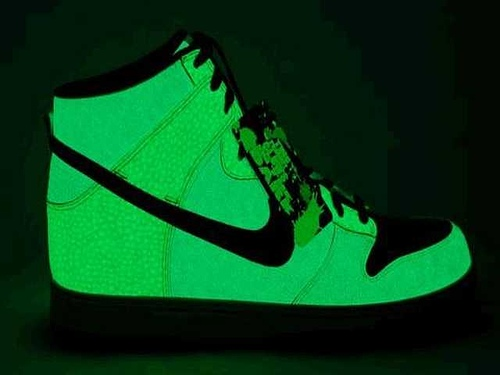 Stop with the glow in the dark shoes!