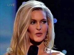 "Miss Ohio brings home the ""Stupid Answer"" award from the Miss USA contest. Audrey Bolte, channeling her inner airhead, stunned everyone with her answer."