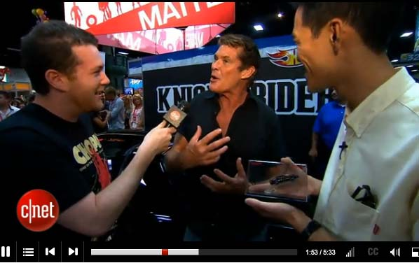 Comic-Con is filled with memorable moments, but nothing could prepare The 404 guys going face to face with The Hoff himself, legendary pop culture icon David Hasselhoff.