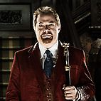 "Eddie Izzard as ""Grandpa"", Sam Dracula in this Munsters remake."