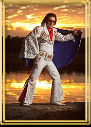 Teddy MacElvis is one of the tribute artists from across the US will compete with the winner vying for the world championship in Memphis later this year