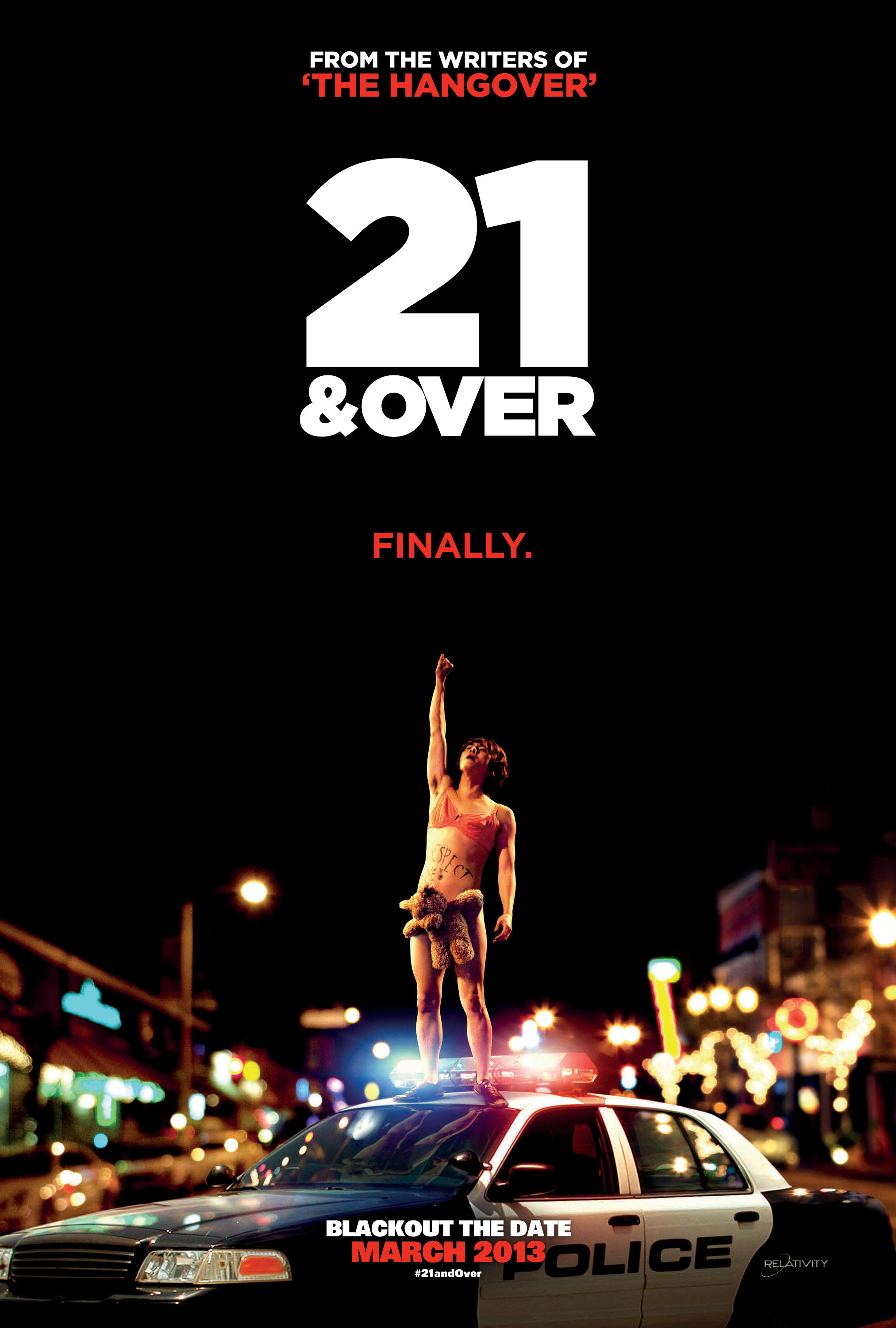 21 and Over is an upcoming American comedy film written by, and the directorial debut of, Jon Lucas and Scott Moore, writers of The Hangover. The film stars Miles Teller, Justin Chon, Sarah Wright, and Skylar Astin.