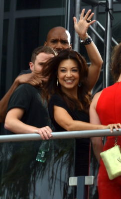 "Ming-Na Wen of ""Agents of S.H.I.E.L.D."" Photo copyright S. Philips/CFM"